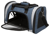 Trixie Sean Carrier 26x28x45cm, Up To 6kg, Blue/grey