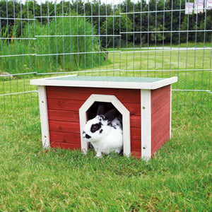 Trixie Natura Small Animal Home 50 × 30 × 37 Cm, Red/white