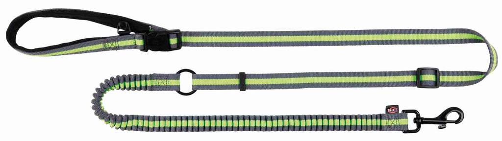 Trixie Jogging Lead 1.33-1.80m, Grey/green
