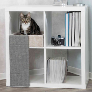 Trixie Cat Bed For Kallax Shelves With Scratching Board 33x48x37cm