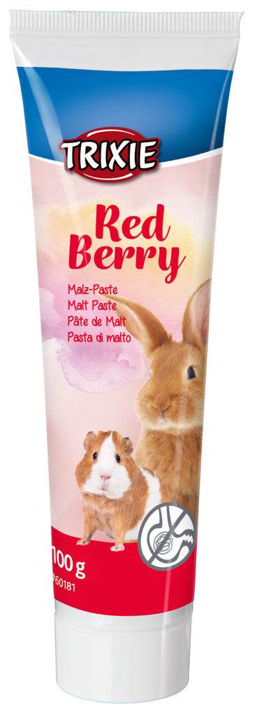 Trixie Small Animal Malt Paste Red Berry 100g
