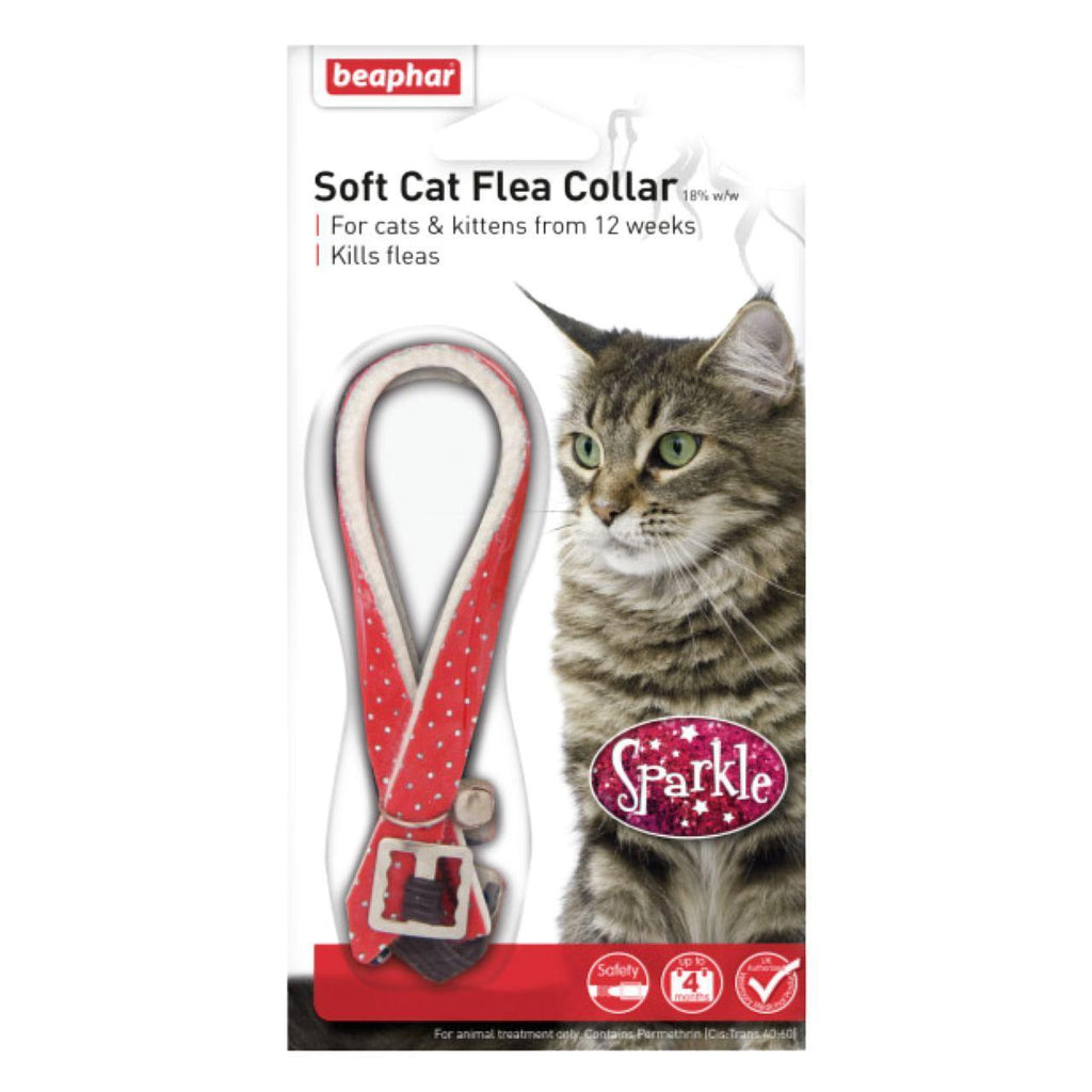 Beaphar Soft Cat Flea Collar - Sparkle