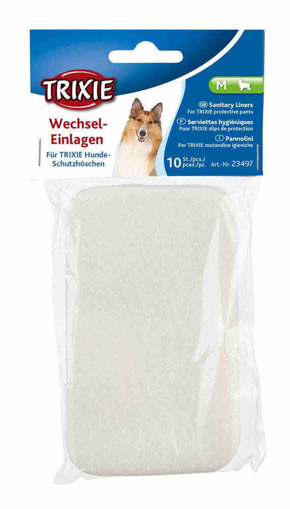 TRIXIE Dog Protective Sanitary Pants Underwear for Bitches in Season Black Beige