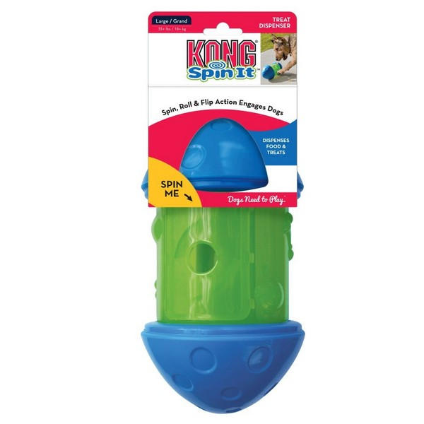 Kong Spin It Food Dispensing Dog Toy, Small