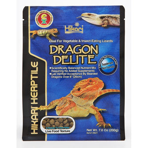 Hikari Herptile Bearded Dragon Insect & Veg Pellets 200g