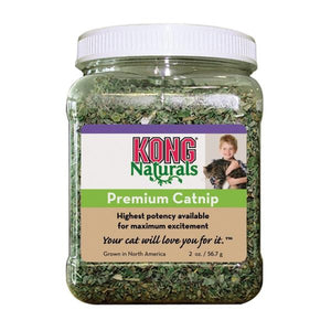 Kong Cat Natural Premium Catnip 2oz