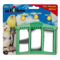 JW Bird Toy Fun House Mirror