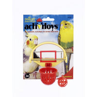 JW Bird Toy Birdie Basket Ball