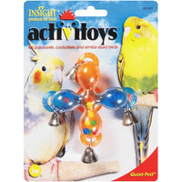JW Bird Toy Quad Pod