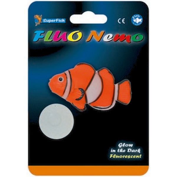 Superfish FLUO Aquatic Ornaments Nemo Fish