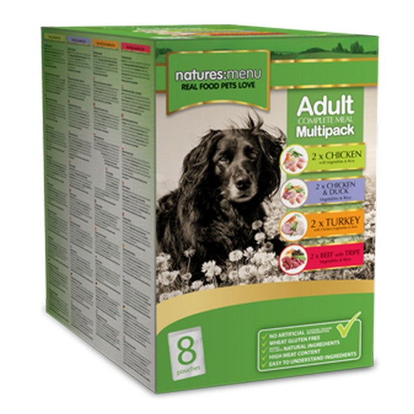 Natures Menu Adult Complete Meal Multipack 8 x 300G