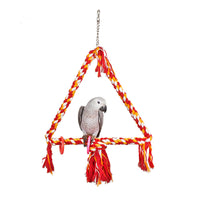 Rope Triangle Parrot Swing