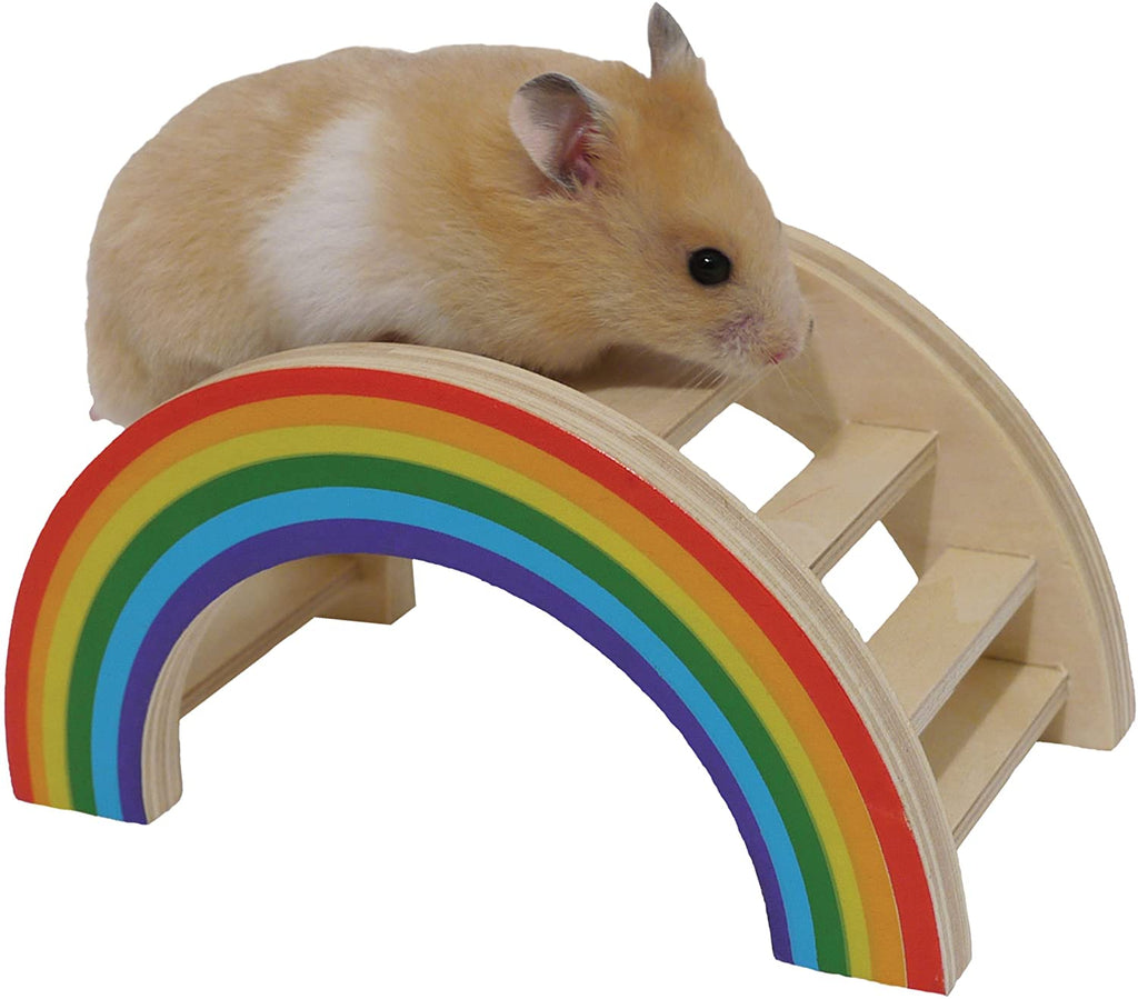 Boredom Breakers Small Animal Rainbow Play Bridge