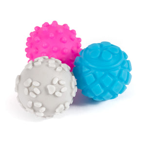 Ancol Small Bite Mini Vinyl Ball 6 Pk