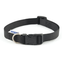 Ancol Nylon Adjustable Collar Black Large 45-70cm