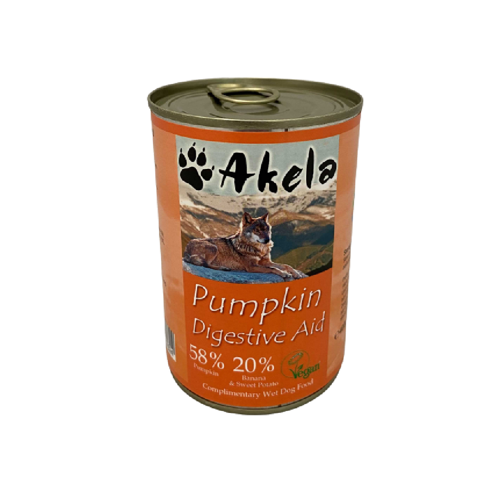 Akela Digestive Aid Pumpkin Mix Dog Can 400g