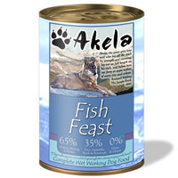 Akela Fish Feast Dog Can 400g