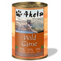 Akela Wild Game Dog Can 400g