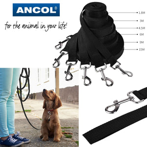 Ancol Nylon Outside Training Lead Track Line