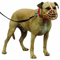 COA - Baskerville Deluxe Dog Muzzle. Lightweight, comfortable, safe