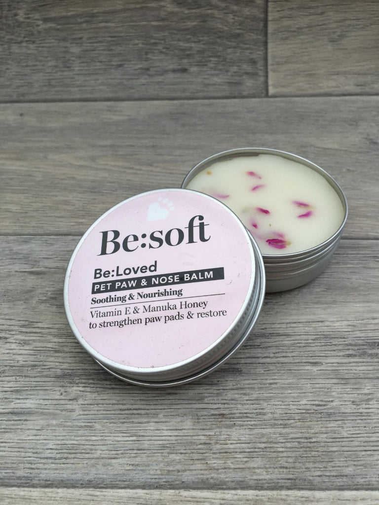 Be: Soft Pet & Dog Paw & Nose Balm - Soothing & Nourishing 60g
