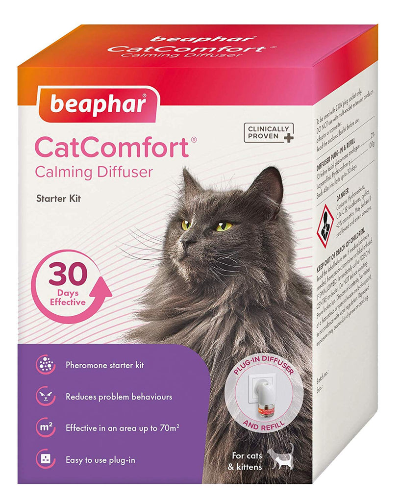 Beaphar Cat Comfort Calming Diffuser Starter Kit 48ml