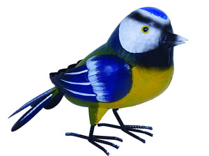 Supa Garden Decor Metal Blue Tit