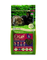 Burgess Excel Mature Senior Rabbit Nuggets with Cranberry & Ginseng 2kg