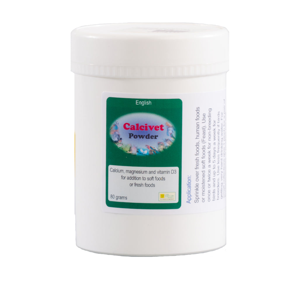 The Birdcare Company Calcivet Powder 80g