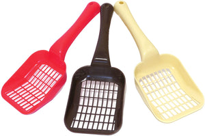 Rosewood Plastic Litter Scoops Assorted Colours