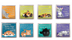 Cat Fridge Magnet Cat Lovers Gift Stocking Filler