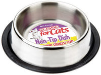 Sharples Stainless Steel Non-Top Cat Dish 15cm