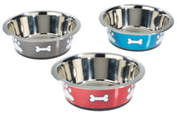 Classic Non-Slip Stainless Steel Posh Paws Dish