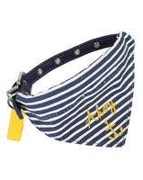 Joules Nautical Neckerchief Bandana And Dog Collar