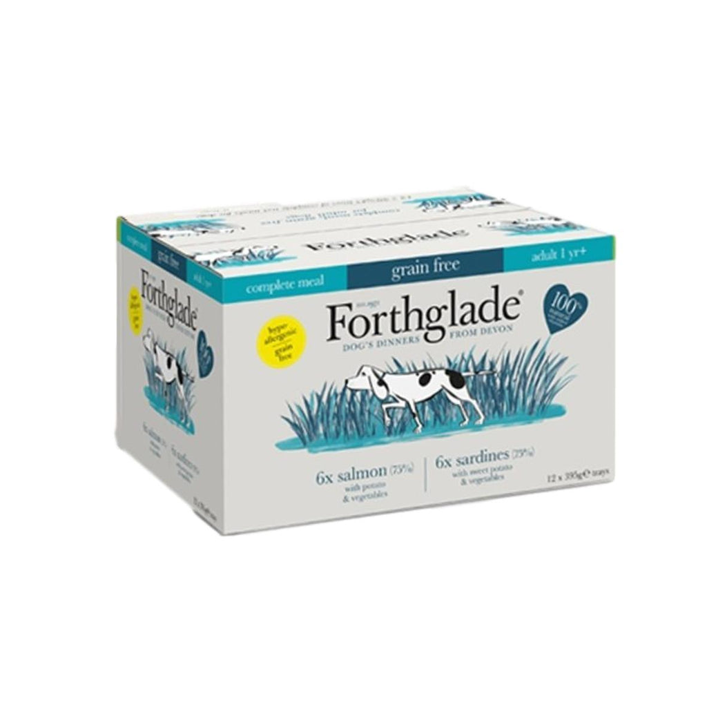 Forthglade Complete Fish Variety Pack 12 X 395g