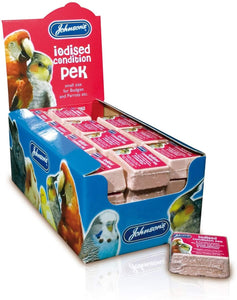 Johnsons Budgie Conditioning Peks Iodised 33g