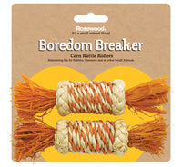 Boredom Breakers Corn Rattle Rollers