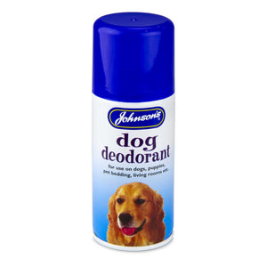 Johnsons Dog Deodorant Aerosol 150ml
