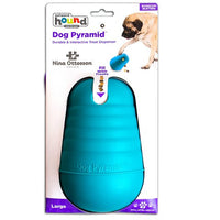 Dog Pyramid Large - Wacky and Unpredictable Boredome Buster. Hard & durable. Level 2