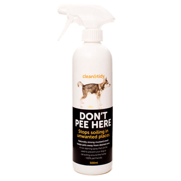 Clean N Tidy Don't Pee Here Spray 300ml