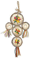 Boredom Breaker Woven Wonders Dream Catcher Bird Toy, Medium/Small.