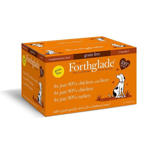 Forthglade Just Multicase Dog Poultry 12 X 395g