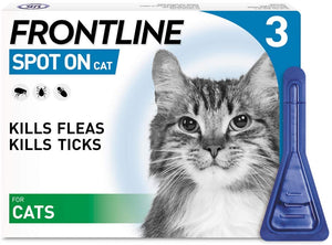 Frontline Spot On Cat 3 Pipettes