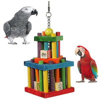 Happy Pet Parrot Block Maze Toy