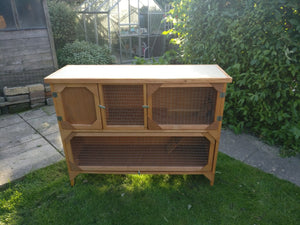 Helmes Two Tier Plywood Hutches