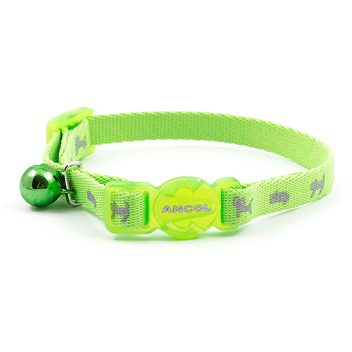 Ancol Kitten Collar Neon Green