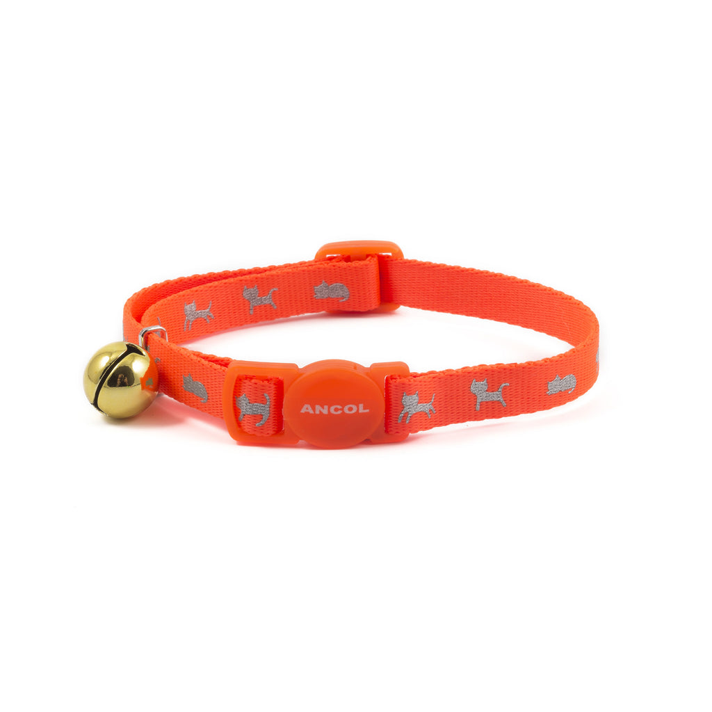 Ancol Kitten Collar Neon Orange