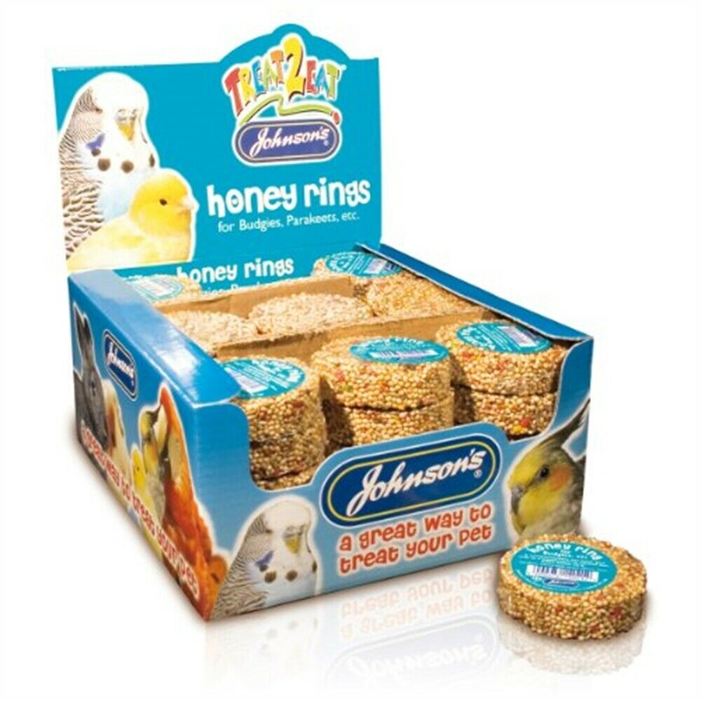 Johnsons Budgie Honey Rings 25g