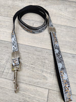 Envy Phantom Designer Dog Lead Black 1.5x120cm