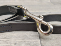 Rosewood Leather Dog Lead Black 42 x 3/4inch